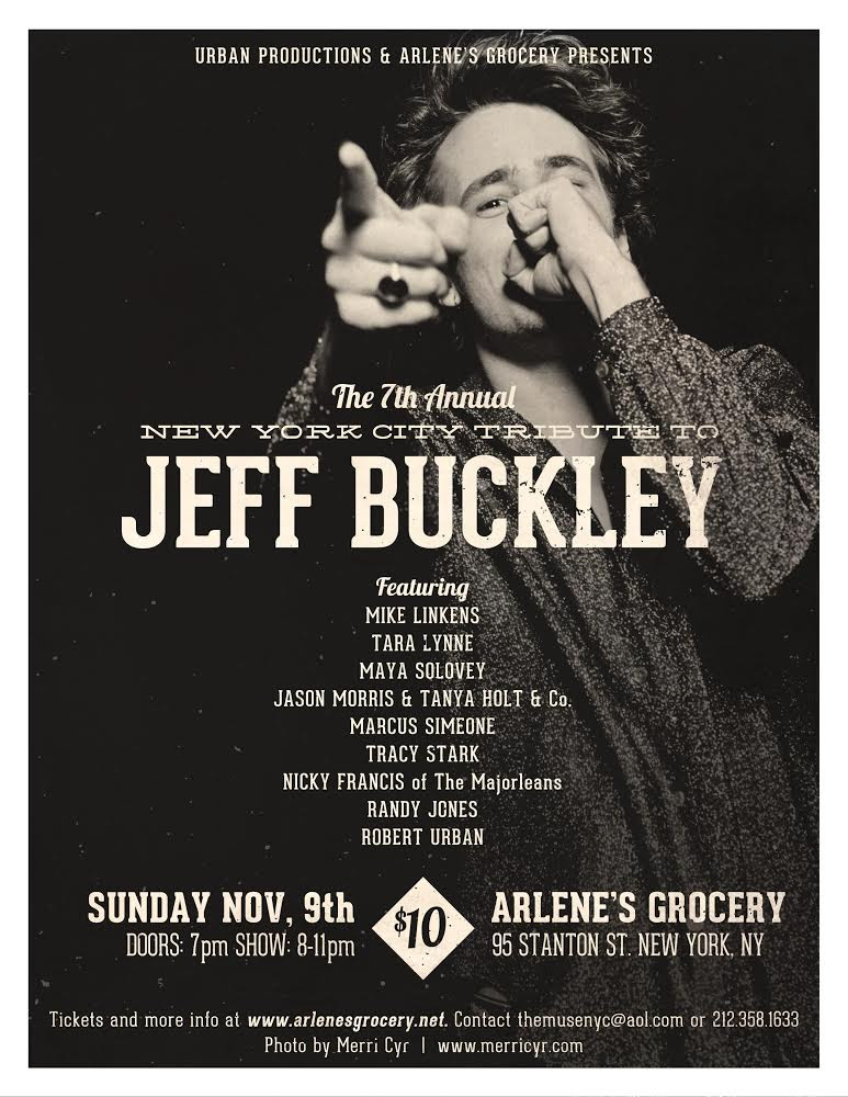 MS Jeff Buckley event